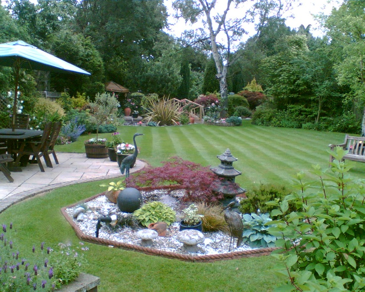 96 best images about beautiful landscape on pinterest for Designs for very small front gardens