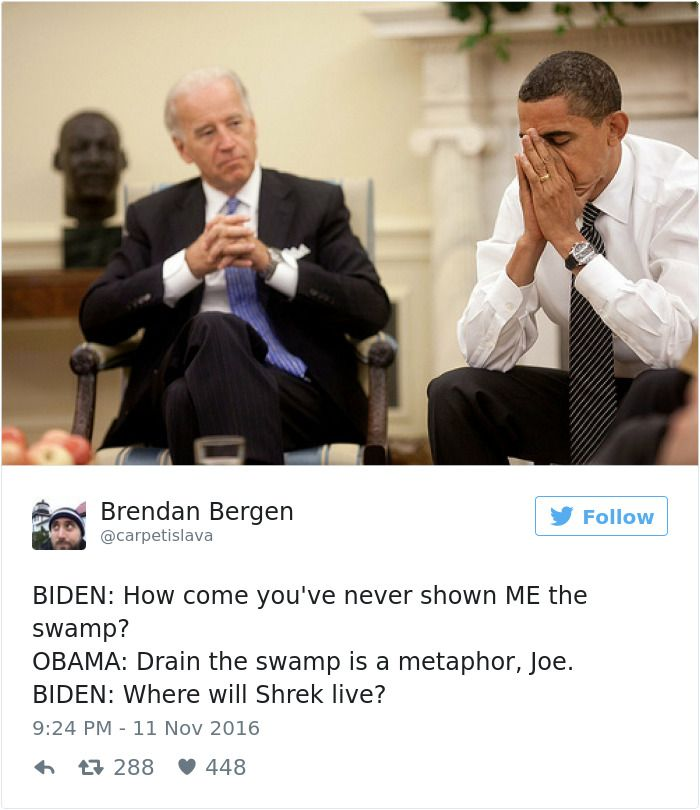 In the White House, apparently | 25+ Hilarious Conversations Between Obama And Biden Are The Best Medicine After This Election