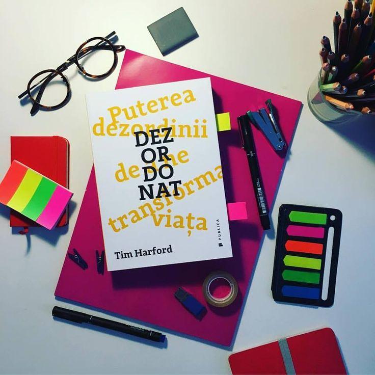 Cartea lui Tim Harford explică nu doar legătura dintre creativitate și dezordine, ci că în special schimbările bruște de plan, oamenii necunoscuți, evenimentele neprevăzute și neorganizarea ne ajută să inovăm creativ.  #messy #romanianedition #editurapublica