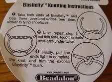 elastische nylondraad knopen - Google zoeken