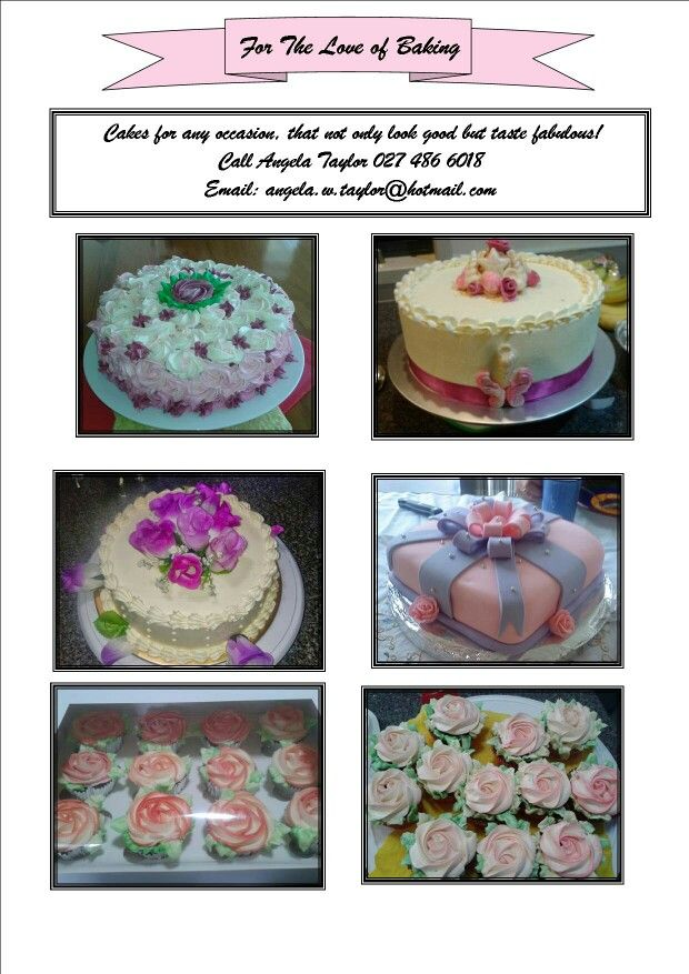 Got A Wedding or A 21st?  How about that Christmas cake?  Let me help you!