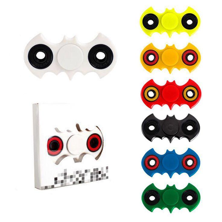 13 Kleuren Hand Spinner Fidget Batman Stress Cube Fidget Spinner Tri-Spinner Fidget Speelgoed Volwassenen Focus Anti Stress Geschenken # E