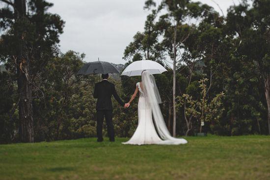 Novia lluviosa...novia dichosa;):