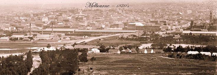 Melbourne, c1870's