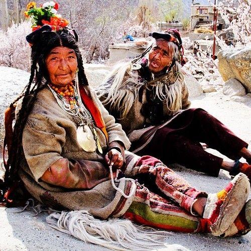 drokpa - nomads - himalayas - ladakh - kashmir