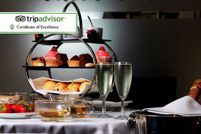 Luxury Afternoon Tea for 2 With A Bottle Of Prosecco @ Number Twelve, Bloomsbury