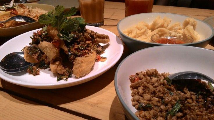 Thailand menu at Tom Tom, Grand Indonesia