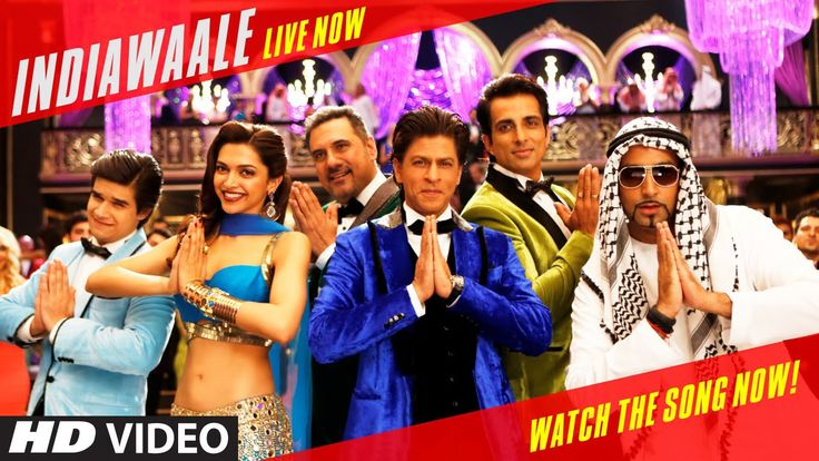 "Get ready to watch the new youth anthem of the nation ""India Waale"" from the movie Happy New Year exclusively on T-series."