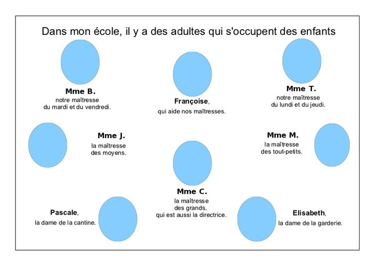 L'école de Léon - Les adultes