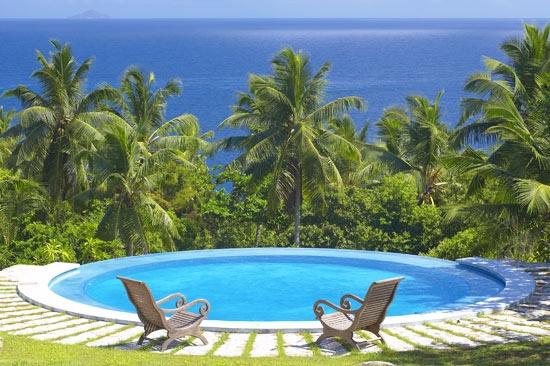 Spa pool - Fregate Island Private Luxury Resort ( Private Island )