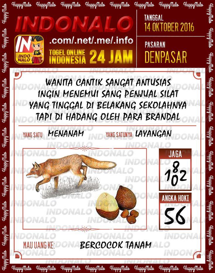 Agen SDSB Togel Wap Online Live Draw 4D Indonalo Denpasar 7 Oktober 2016