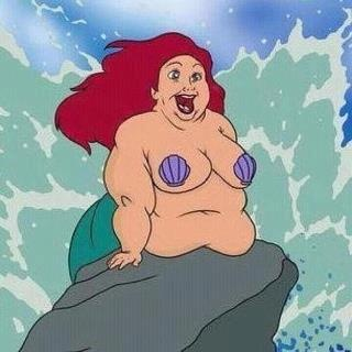 ariel after the little mermaid.: Funny, Crabs Cakes, 10 Years, Bleeding Heart, Disney, Weights Loss, The Little Mermaids, Kid, 30 Years