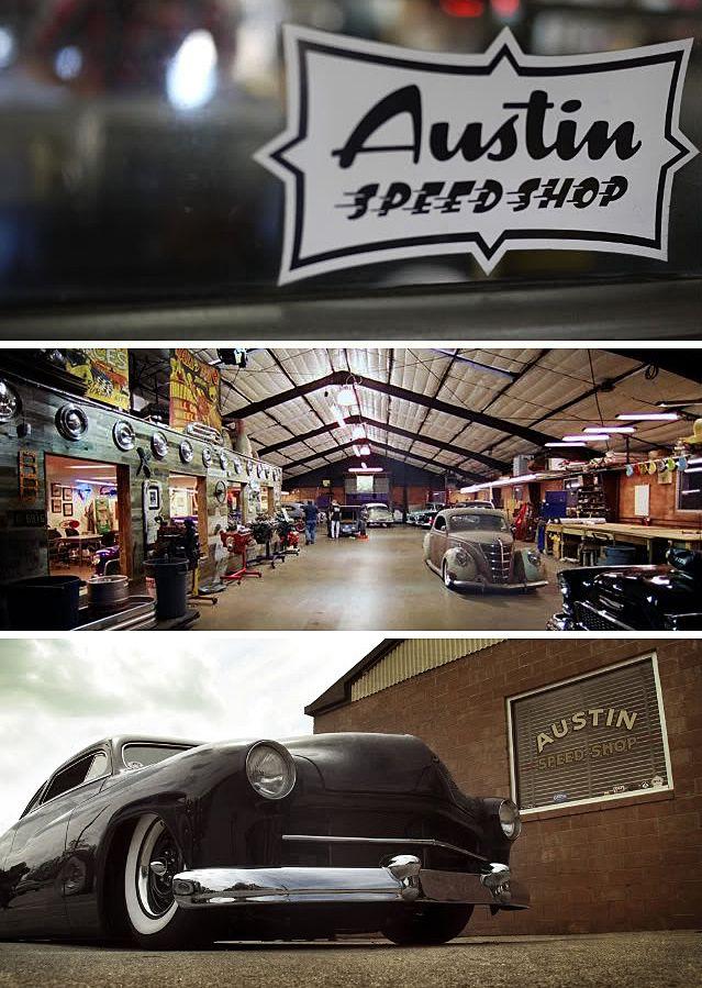 Seven Sins Choppers: Jessie James Austin Speed Shop