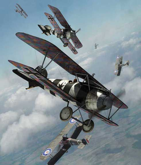 Mark Miller Rendering of an Albatros DVa