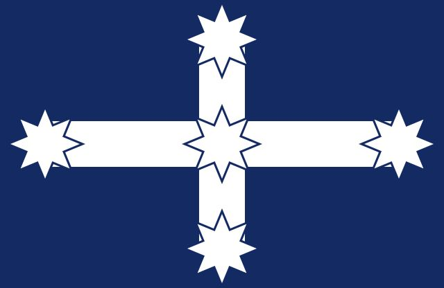 Eureka Flag (1854)  #Ausflags