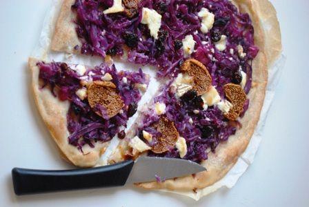 pizza violette