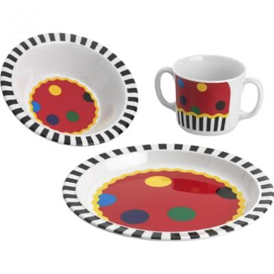 Picture of Licorice All Sorts Childrens 3pc Dinner Set