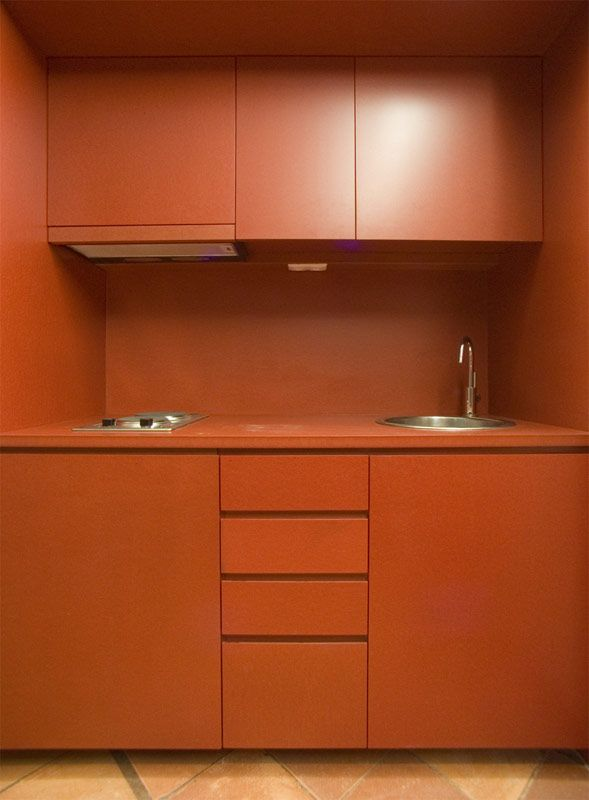 #valchromat #kitchen #orange