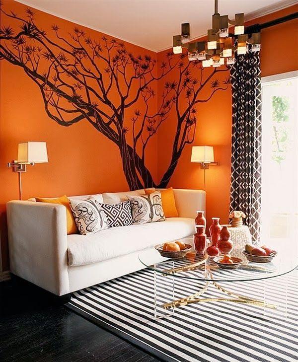 Arredare con l'arancione. Speciale Halloween « Architettura e design a Roma Architettura e design a Roma