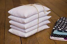 DIY - bouillottes sèches | graines de lin