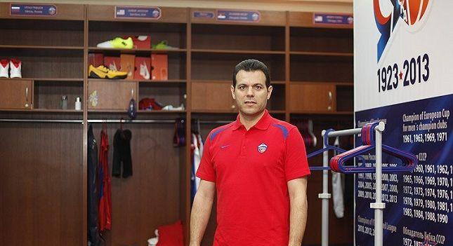 O Δημήτρης Ιτούδης στην CSKA Moscow #CSKABasketball