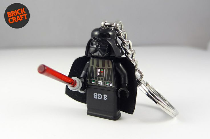 Darth Vader Pendrive Lego  8GB USB w BRICK CRAFT