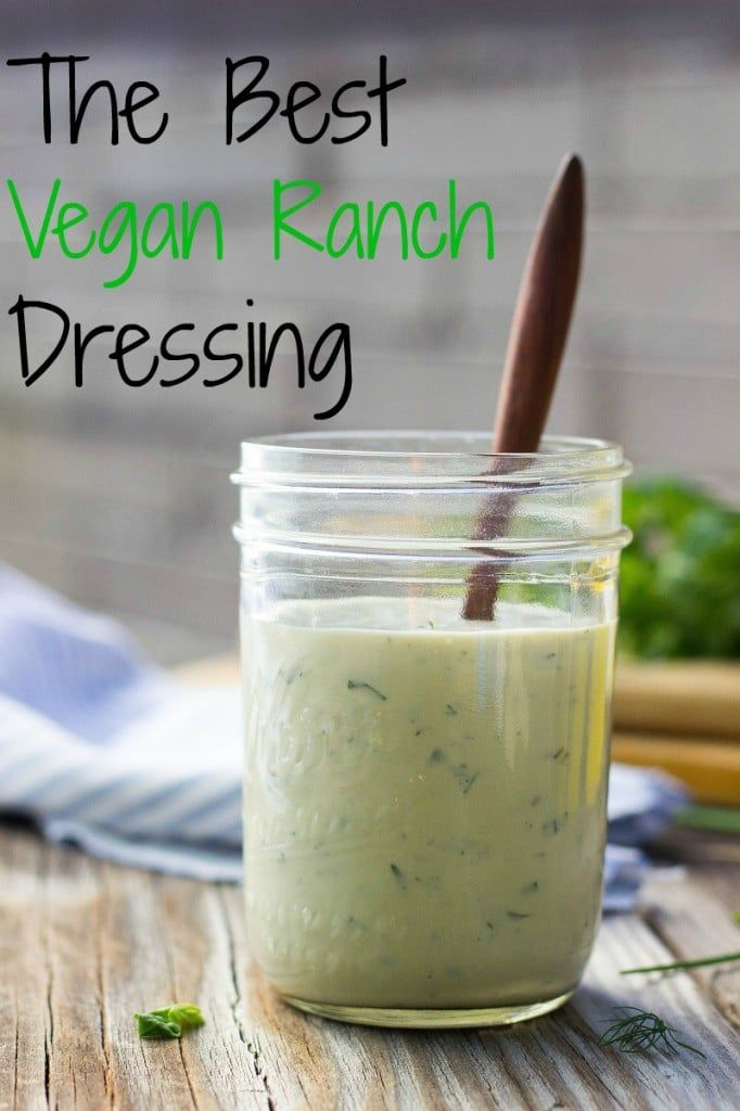 The Best Cashew Vegan Ranch Dressing-image