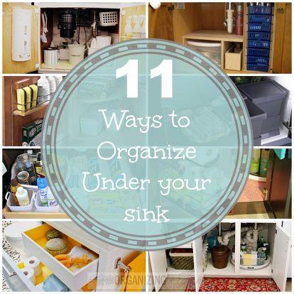 Bathroom Organizers Under Sink best 25+ organize under sink ideas on pinterest | kitchen sink