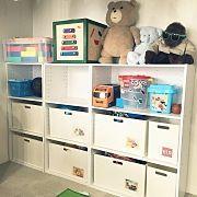 My Desk,おもちゃ箱,ニトリ,子どもスペース,おもちゃ収納,ニトリ カーテンに関連する他の写真