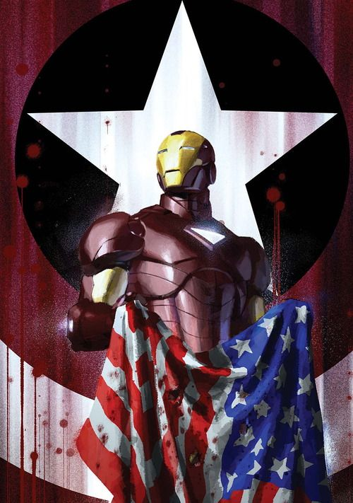 Iron Man by Gerald Parel