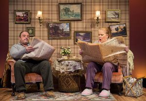 Grandma McGarvey with Grandpa's Slippers | Tim Bray Productions. Auckland's leading theatre for children