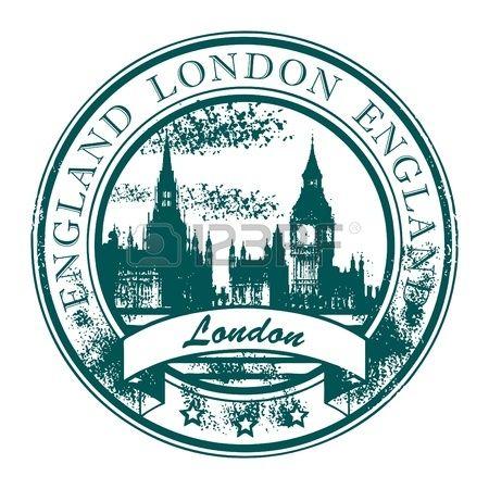 Pieczątka grunge z londyńskiego parlamentu i słowa Londynie wewnątrz photo