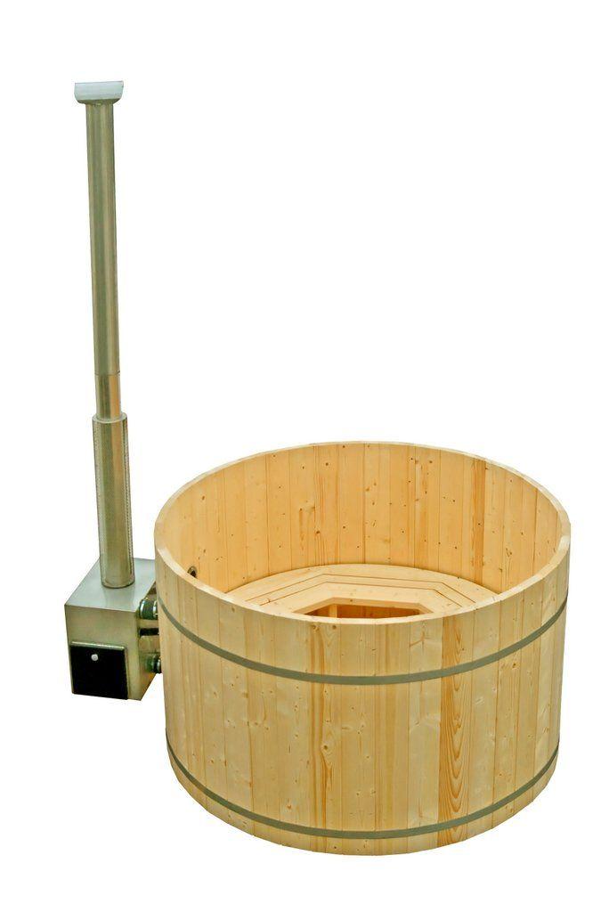 Nekajzame.net - Spruce wood hot tub with outside heater - Kad iz smreke z zunanjim grelcem http://nekajzame.net/lesene-vroce-kadi/kad-iz-smreke-z-zunanjim-grelcem/