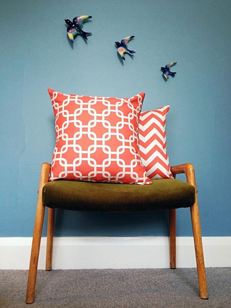 cushion - coral