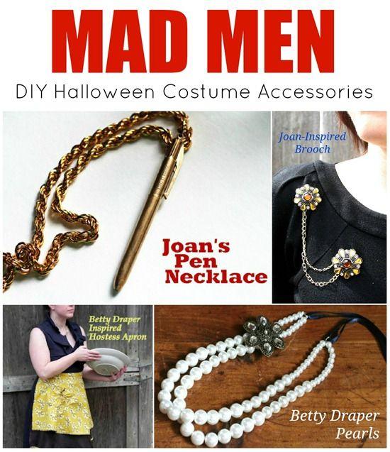 DIY Mad Men Costume Accessories - Mad in Crafts @Gloria Stovall
