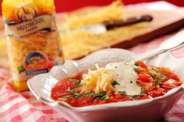 Pomidorowa z krajanką