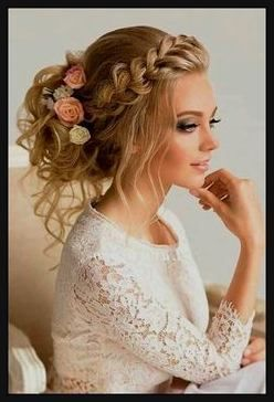 Image result for bridal hairstyles braided semi-open ...