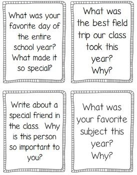 Journal prompts, printables, and fun activities to keep kids engaged at the end of the year! $
