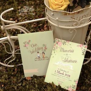 wedding invitation for friend