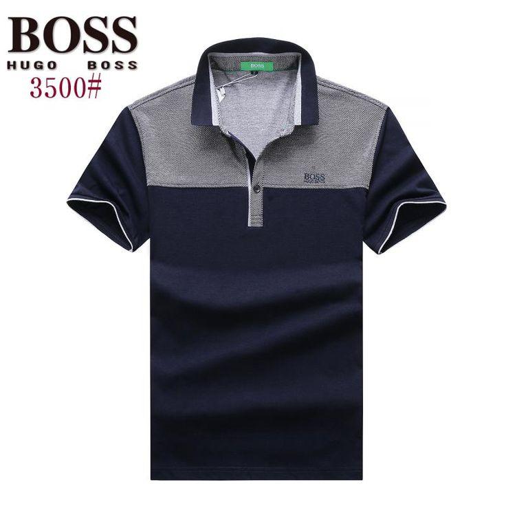 Hugo Boss polos t-shirts, short sleeve 100% cotton tops, brand shop