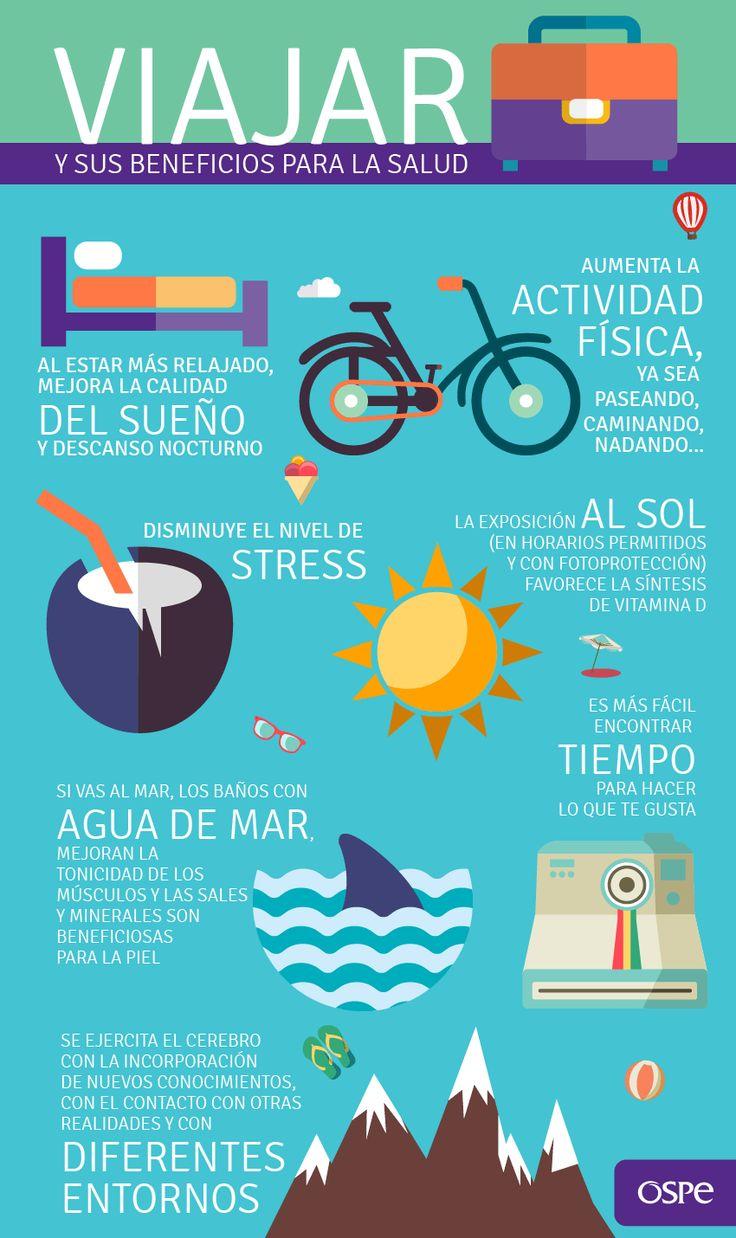 Viajar hace bien #Vacaciones #Verano
