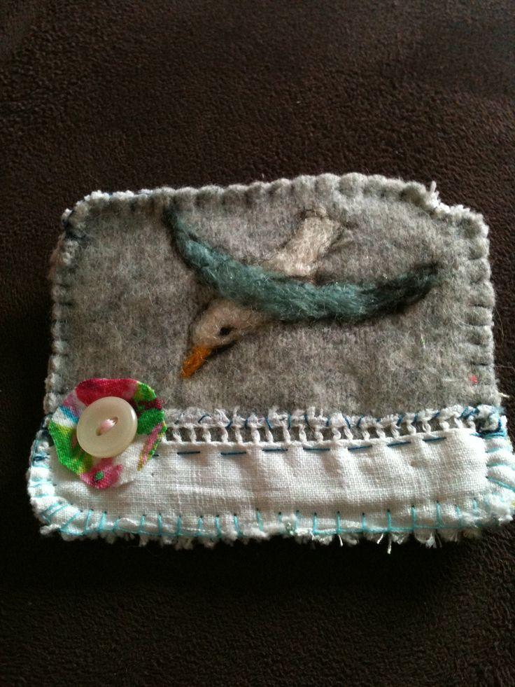 My Lou Tonkin seagull brooch www.loutonkin.com