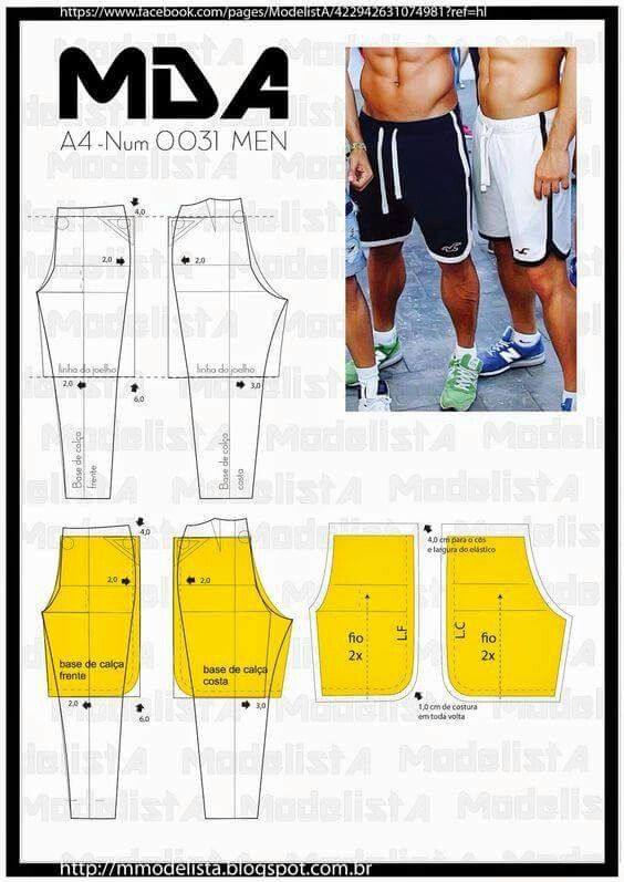 Men's sport pants and shorts