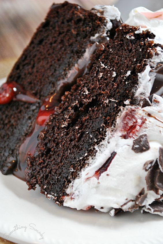 Easy & Elegant Black Forest Cake I JUST MADE THIS FOR PADDY-O....
