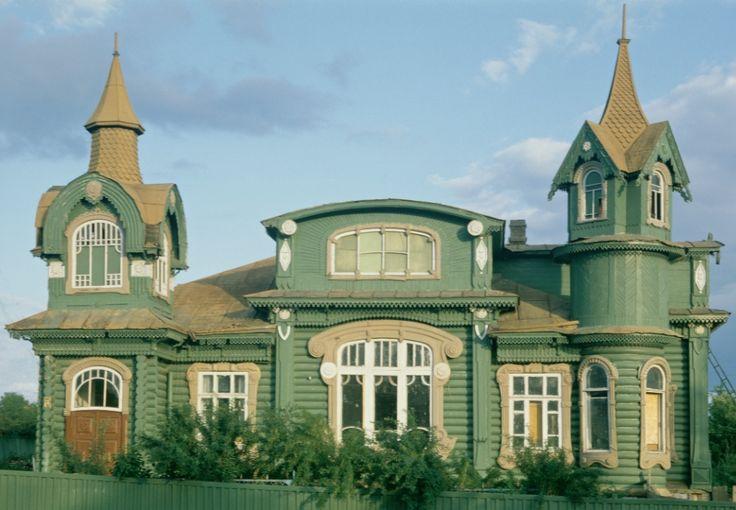Igor Palmin Art nouveau russe Gorokhovets (Vladimir region). Shorin's House, beginning of XX century