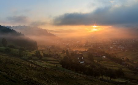 My village seen from the hill Photo by Marina Sveduneac — National Geographic Your Shot