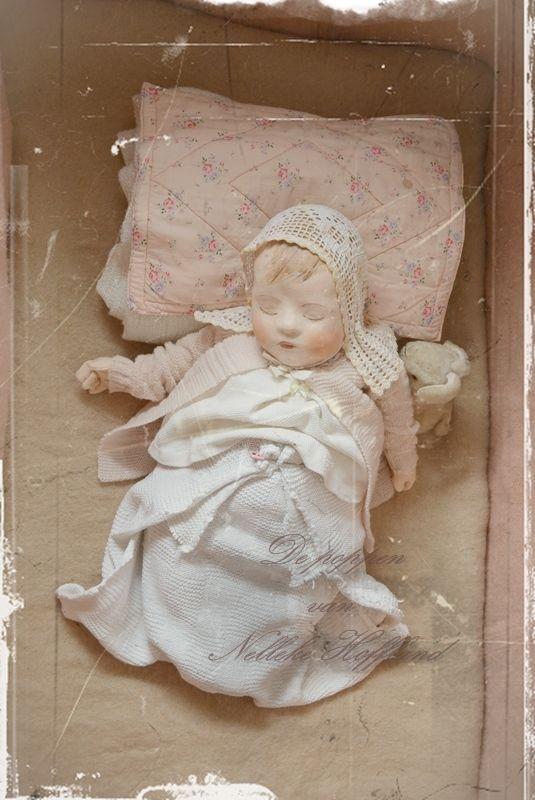 **Een kiekje van de slapende pop**