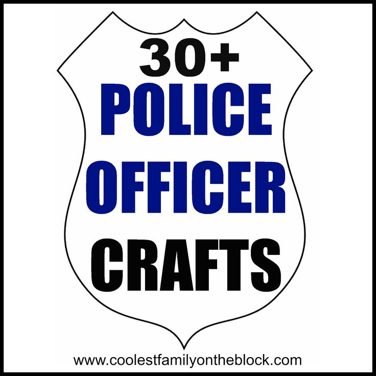1000+ ideas about Police Officer Crafts on Pinterest | Community ...