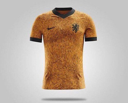 """""""Hey @Nike, what the fuck have you done to the Holland kit?  You can't do that!  Fix it."""""""