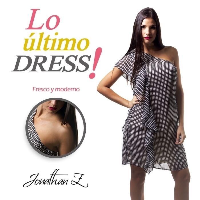Muéstrate sensual con este fabuloso #dress con el hombro afuera. ¿Te atreves a usarlo?  #JonathanZPR #LoUltimo #PuertoRico #Dress #Fashion #PlazaDelSol #Bayamon ##Chic #Shopping